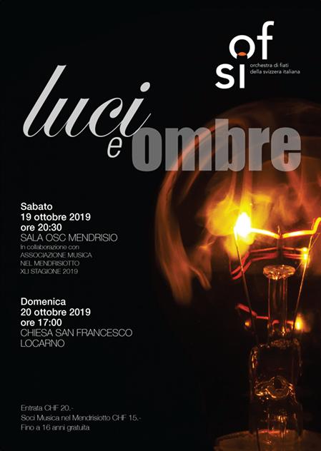 flyer concerto ofsi autunno 2019 luci e ombre